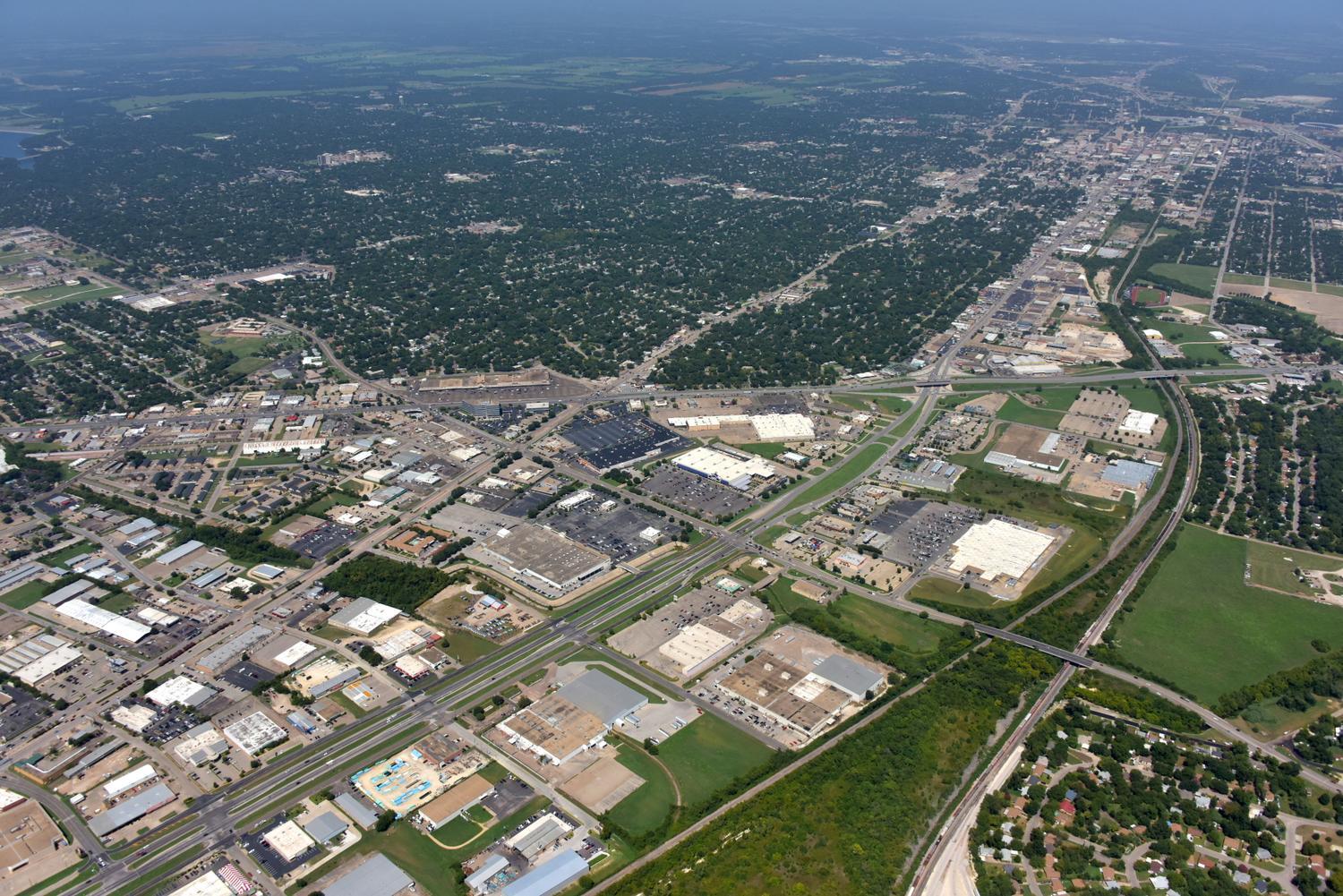 Waco Retail - Waco Aerial Photographer - Aerial Drone Image - Aerial Drone Video - Waco, TX - Texas