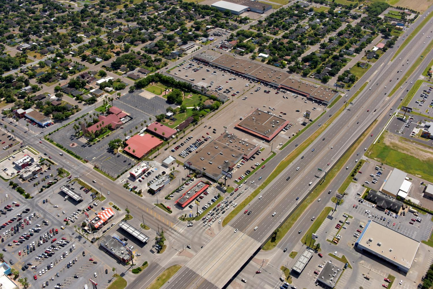 Palm Plaza, Weslaco, Texas - Weslaco Aerial Photographer - Aerial Drone Image - Aerial Drone Video - Weslaco, TX - Rio Grande Valley, Texas