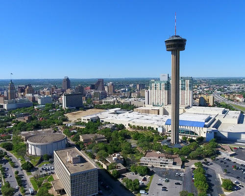 Downtown CBD - San Antonio Aerial Photography - San Antonio Drone Photography - San Antonio Drone Video - San Antonio, TX