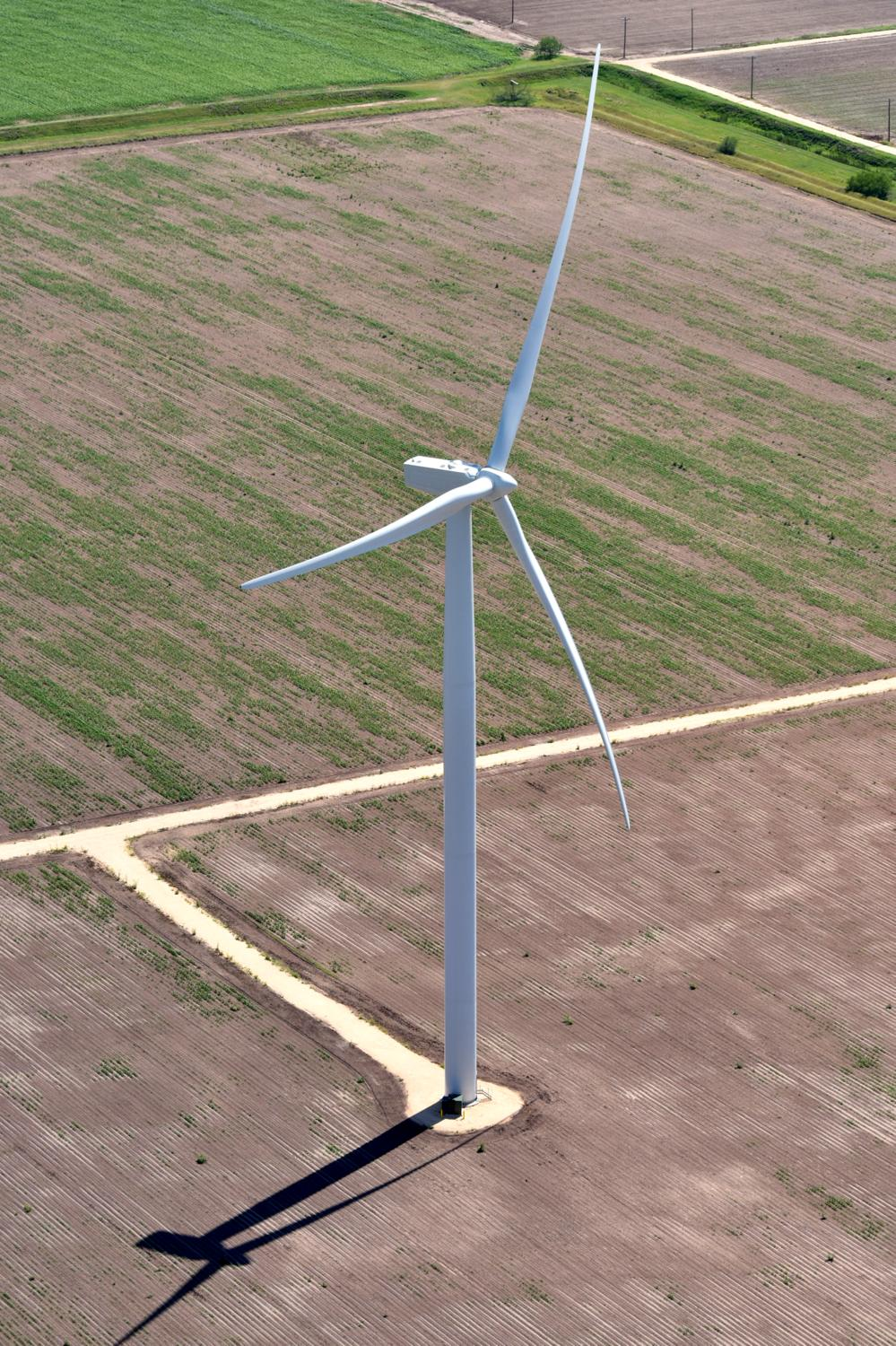 Texas energy photography, aerial, drone, oil and gas, solar, wind energy, Brownsville, TX
