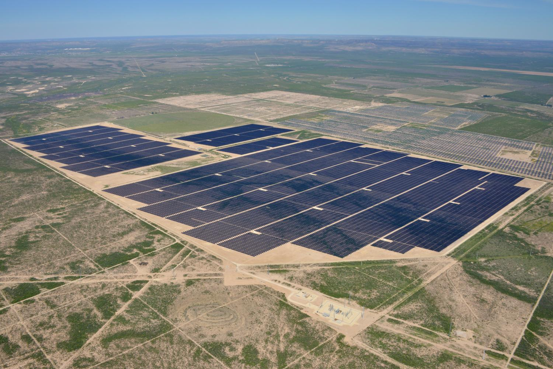 Texas energy photography, aerial, drone, oil and gas, solar, wind energy, McCamey, TX