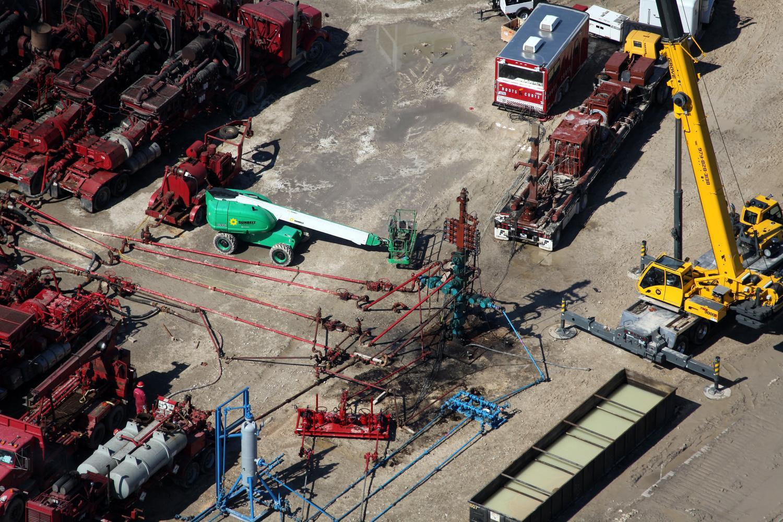Texas energy photography, aerial, drone, oil and gas, solar, wind energy, frac site, Eagle Ford Shale, TX