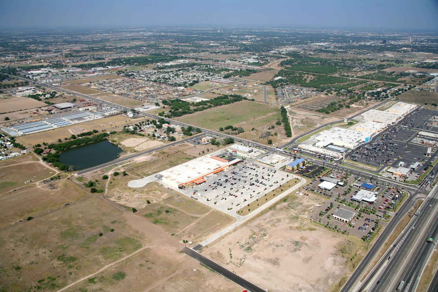 Home Depot, Mission, Texas - Mission Aerial Photographer - Aerial Drone Image - Aerial Drone Video - Mission, TX - Rio Grande Valley, Texas