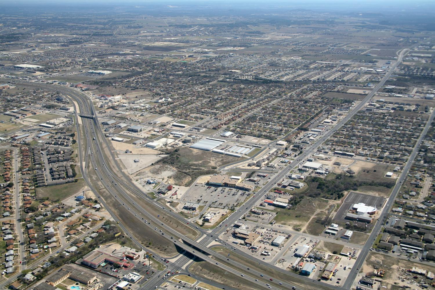 Retail Shopping Center, Killeen, Texas - Fort Hood Aerial Photographer - Killeen Aerial Drone Image - Aerial Drone Video - Killeen, TX - Central Texas
