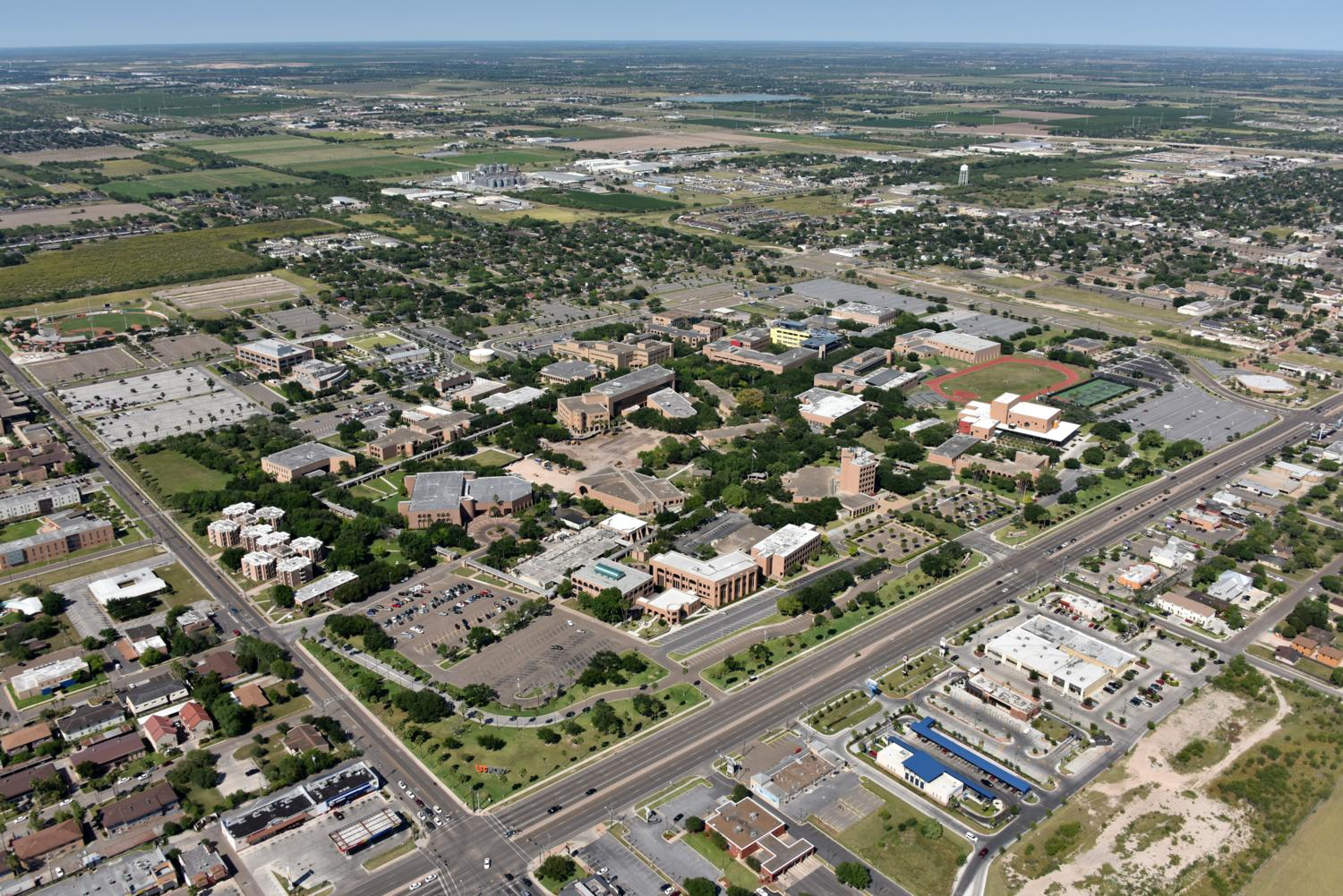 UTRGV, Edinburg, Texas - Edinburg Aerial Photographer - Aerial Drone Image - Aerial Drone Video - Edinburg, TX - Rio Grande Valley, Texas