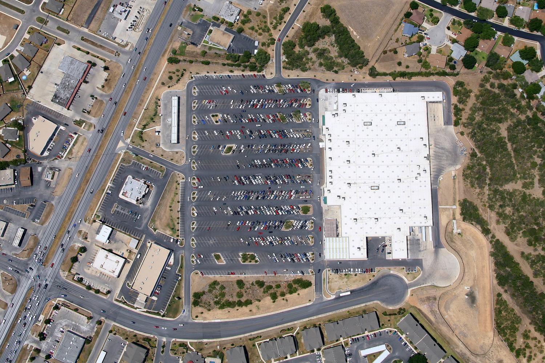 Vertical Imagery, Laredo, Texas - Laredo Aerial Photography - Vertical Map Image, TX