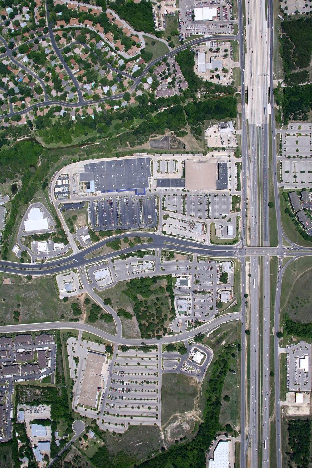 Vertical Imagery, Austin, Texas - Austin Aerial Photography - Vertical Map Image, TX