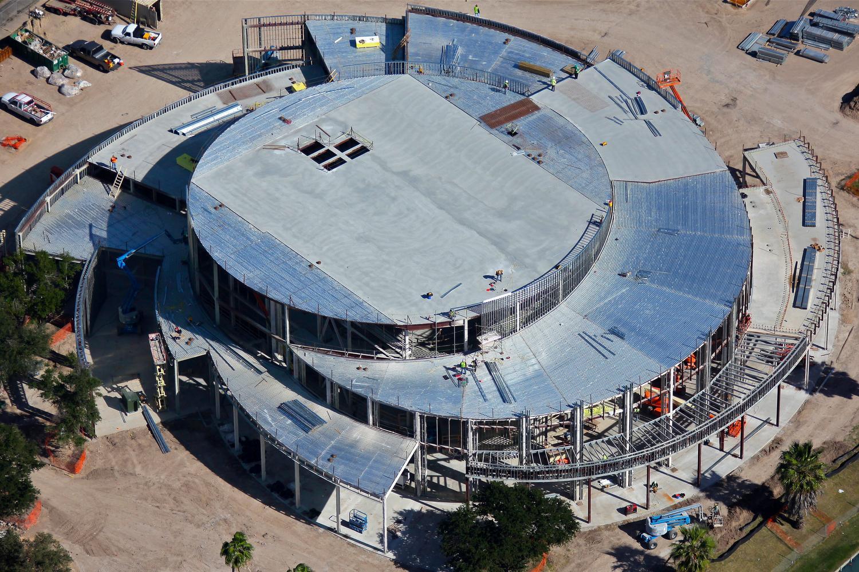UTRGV Construction Progress Photo, Brownsville, Texas - Brownsville Texas Aerial Photography - Rio Grande Valley Aerial Drone Photography - Brownsville, TX