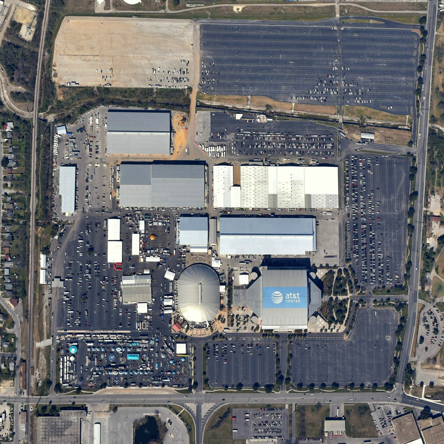 at&t Center, San Antonio, Texas - Vertical Imagery - San Antonio Aerial Photography - San Antonio, TX