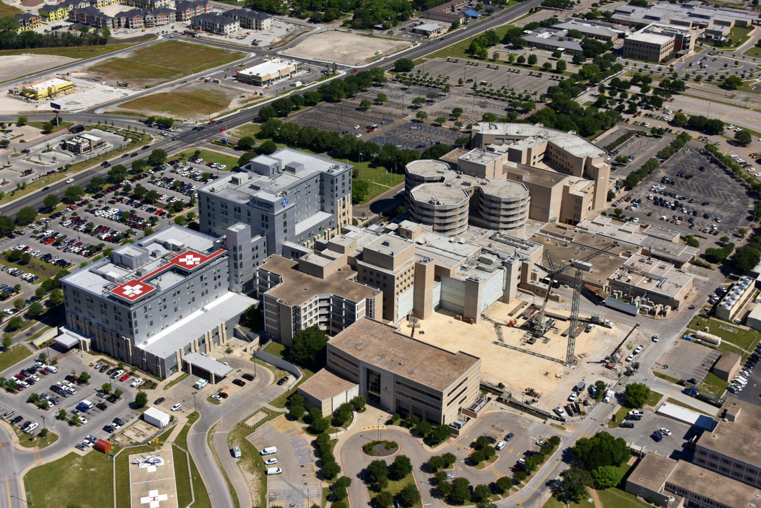 Scott & White Hospital, Temple, Texas - Temple Aerial Photographer - Aerial Drone Image - Aerial Drone Video - Temple, TX - Central Texas
