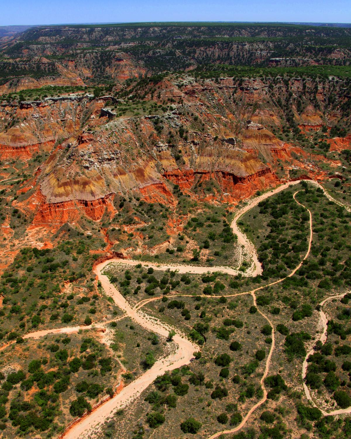 Palo Duro Canyon, Amarillo, Texas - Amarillo Aerial Photography - Drone Photography - Drone Video - Amarillo, TX