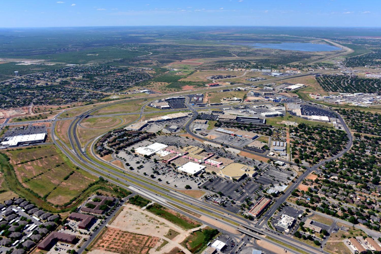 Sunset Mall - San Angelo Aerial Photographer - Aerial Drone Image - Aerial Drone Video - San Angelo, TX - West Texas