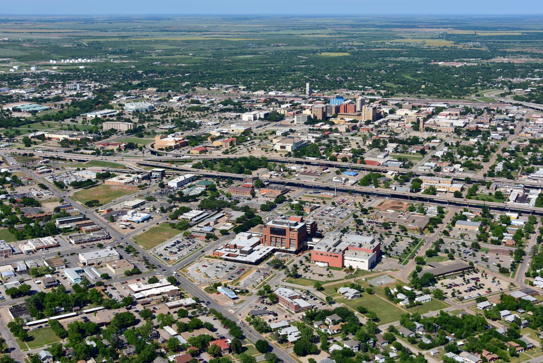 United Regional Hospital, Wichita Falls, Texas - Wichita Falls Aerial and Drone Photography + Video - Wichita Falls, TX - North Texas