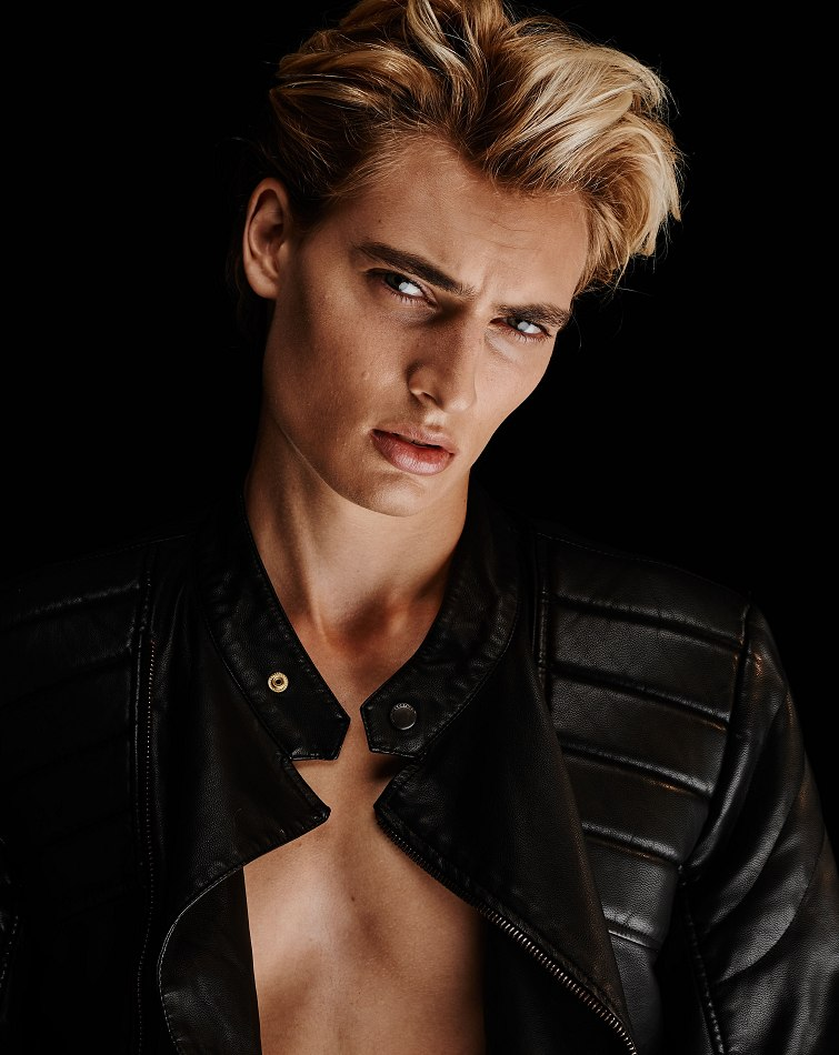 Trevor Drury, model and musician.