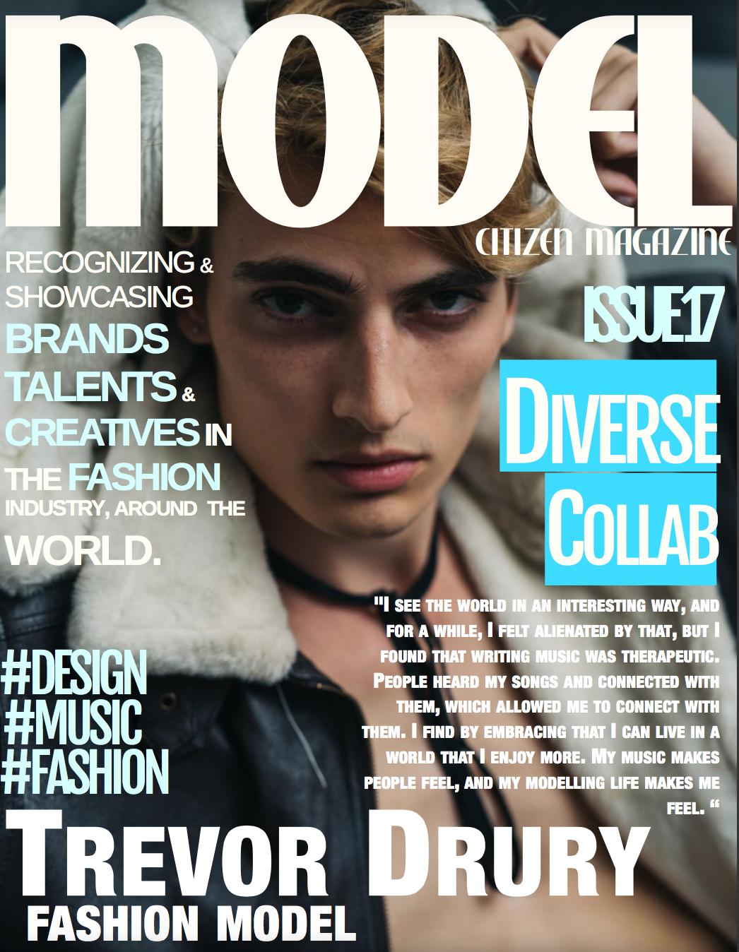 Trevor Drury, cover of Model Citizen