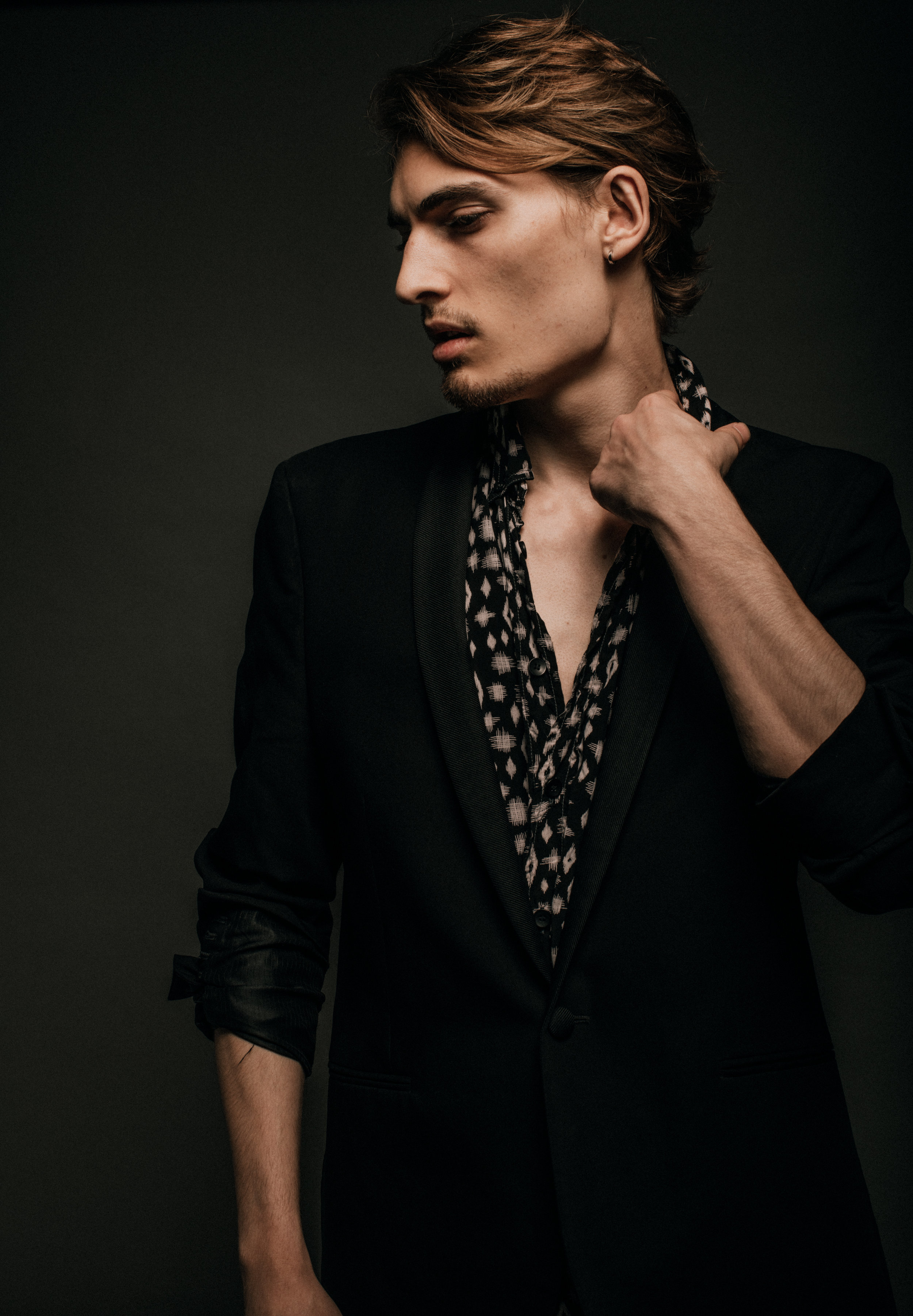 Trevor Drury, musician and international model