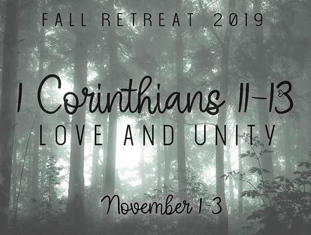 Calvary Students is pleased to officially announce the 2019 Fall Retreat. We are headed back to Camp Calvary November 1-3.  Up to Sept 30 you can take advantage of our early bird pricing. $85 per person. After Sept 30 prices will go up to $120 per person, $100 for multiple siblings. #fallretreat #studentministry #bestweekendever
