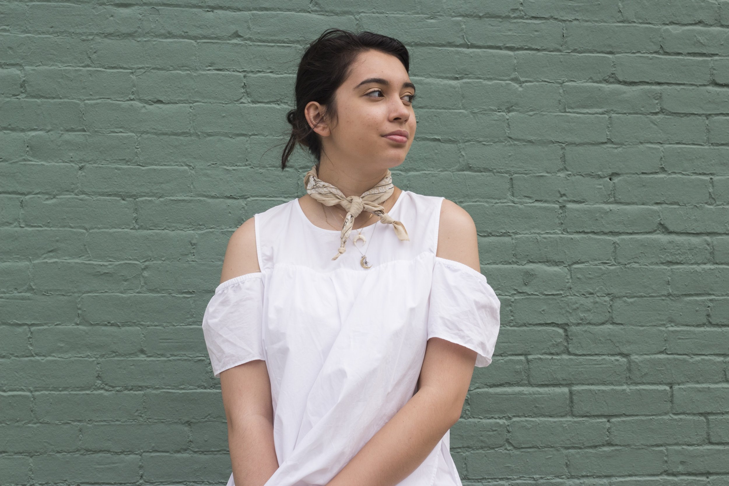 Scarf: Urban Outfitters, Model:  Ann Marie