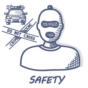Your safety doodle drawing