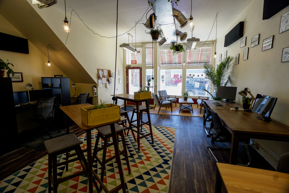 Updates to the space - Spring is here and so is a better coworking space