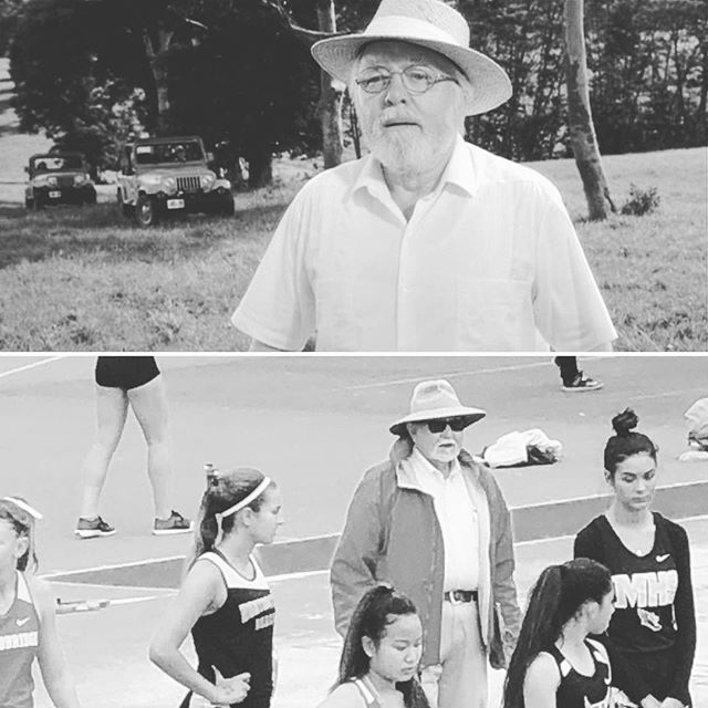 🤔🤭😆the moment you realize the founder of #jurassicpark also loves #trackandfield🦖🦕 - - - #cif #sprintacademy #observations