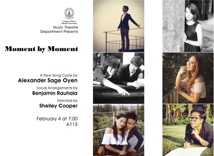 Publication: Asian Premiere of  Moment by Moment  Thailand Music Journal, April 2014