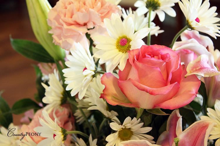 First Birthday Flower Arrangement