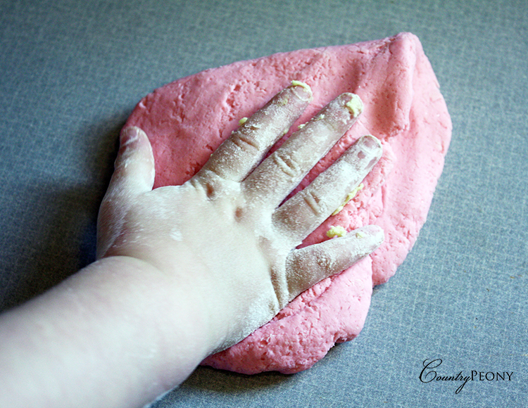 Playdough with Toddlers