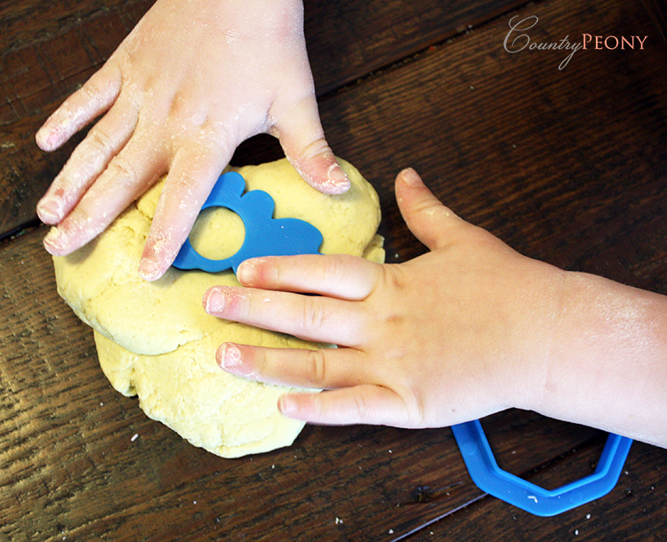Homemade Playdough for Children