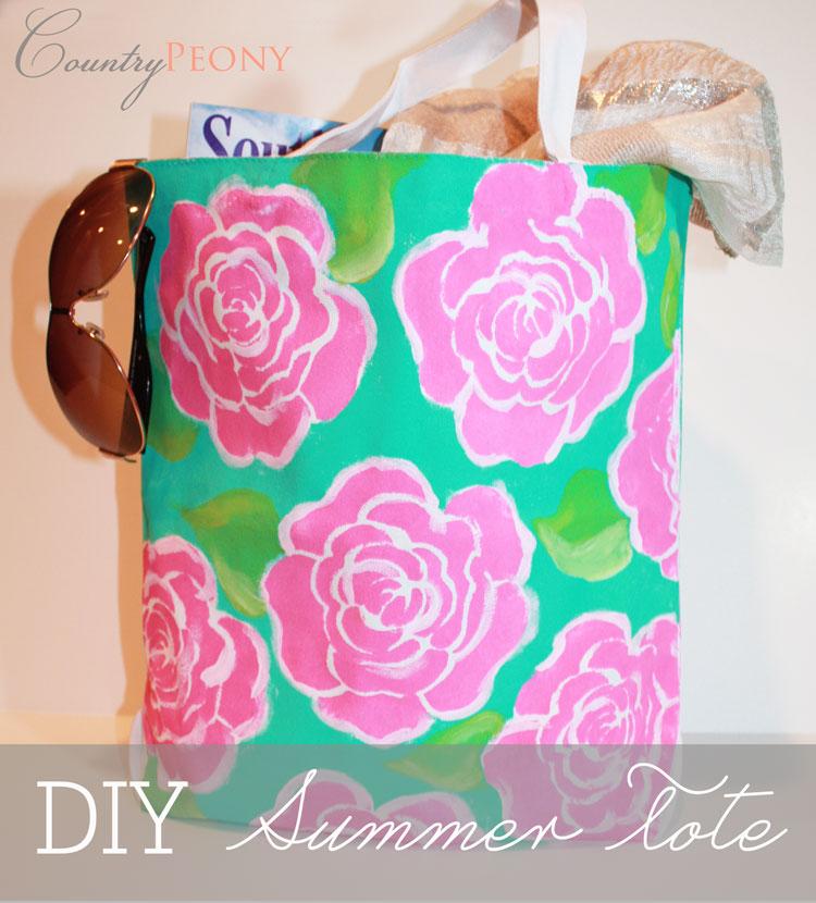 DIY Summer Tote