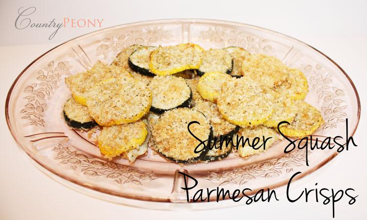 Squash Parmesan Crisps