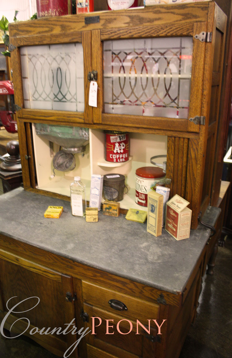 Kitchen Cabinet at the Estate Sale