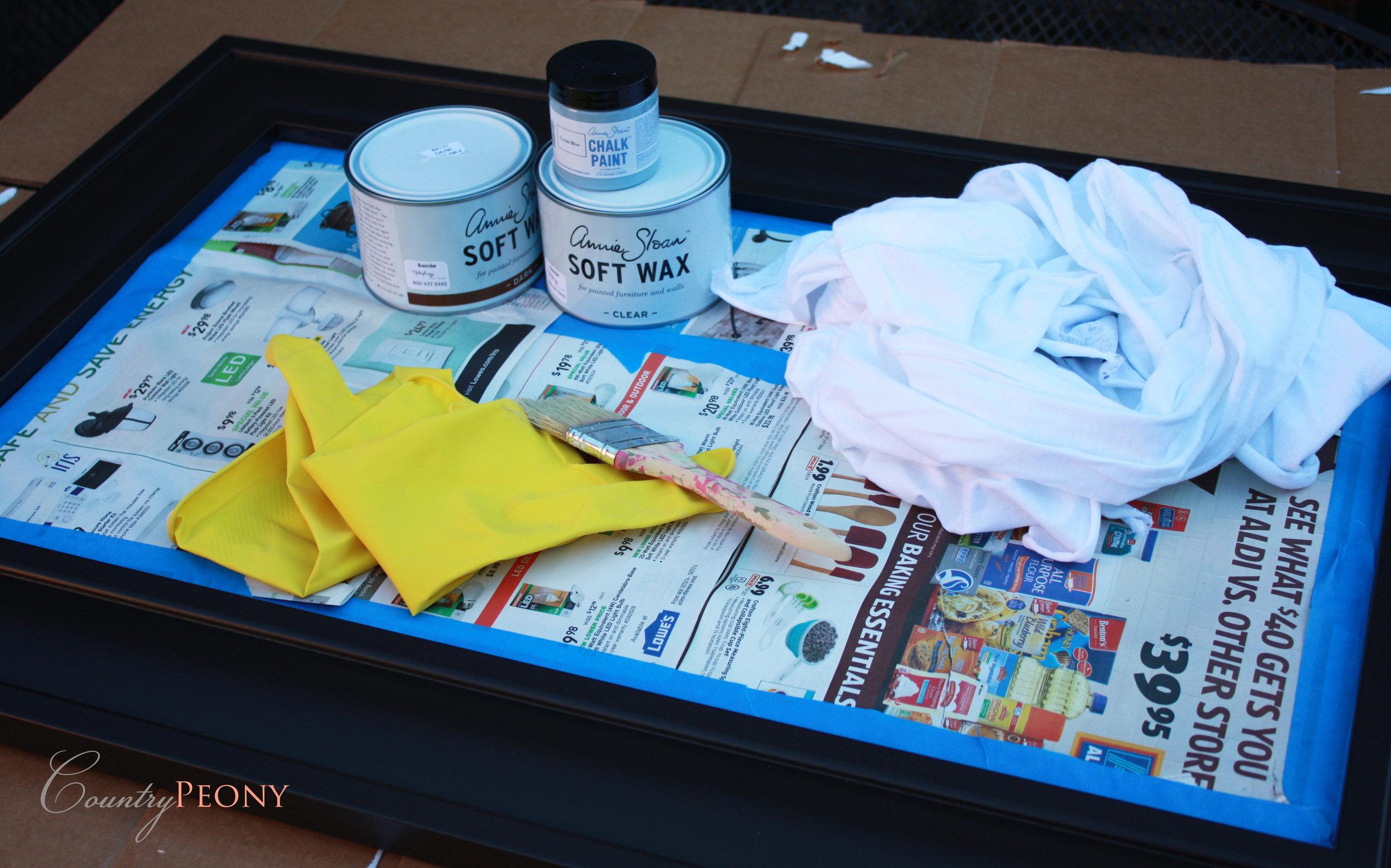 Annie Sloan Chalk Paint Project