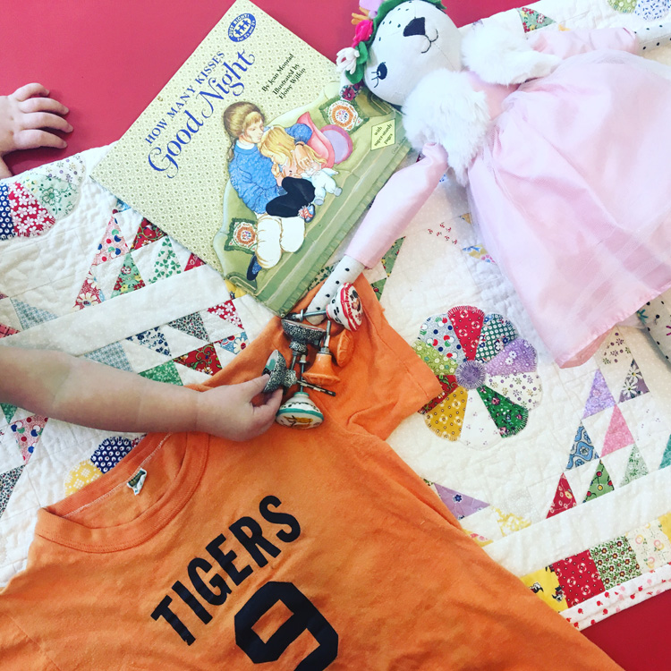 Boy and Girl Toddler's Shared Bedroom