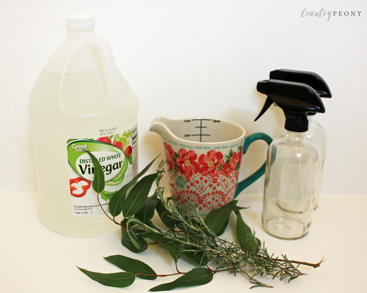 Homemade Vinegar House Cleaner