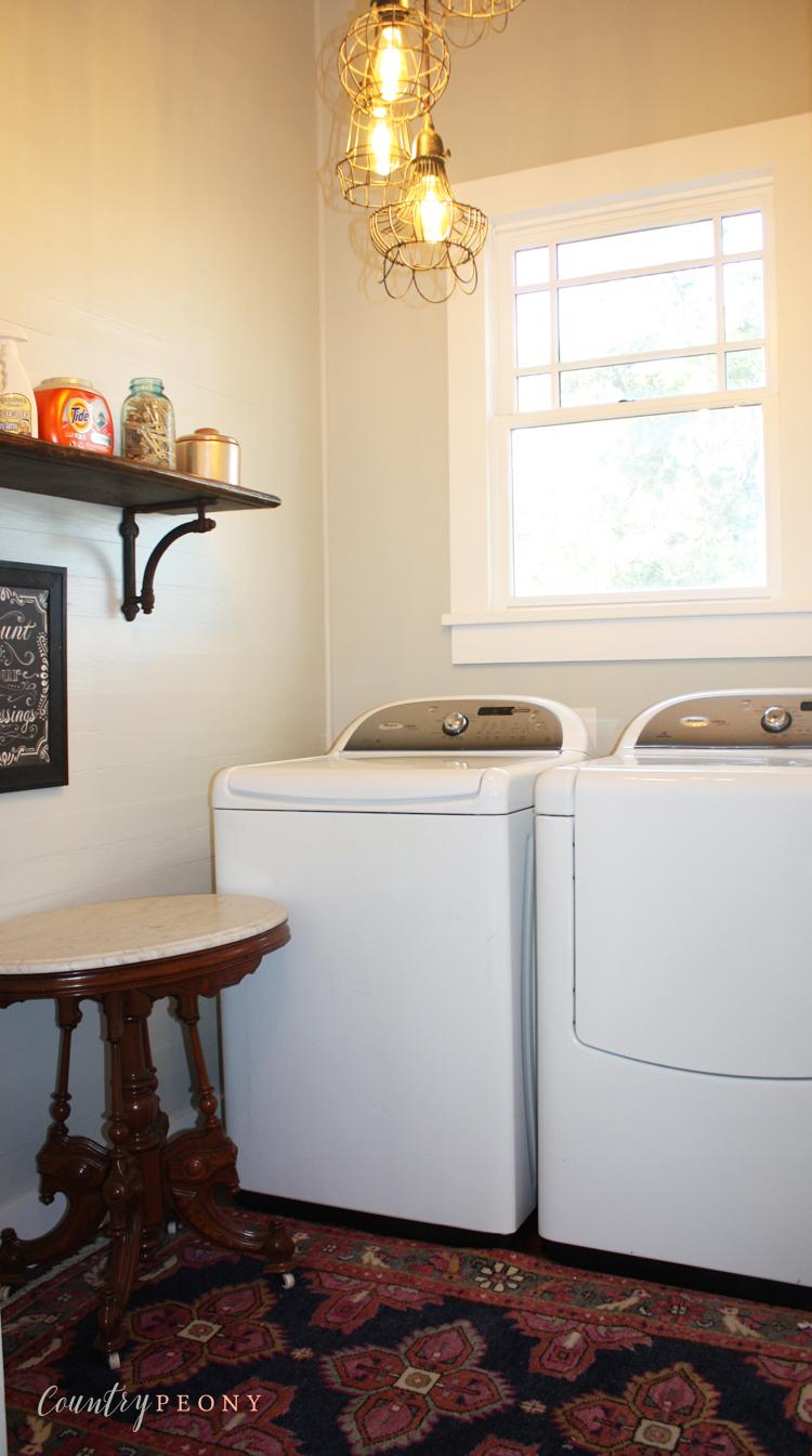 Rub 'n Buff - Laundry Room Details