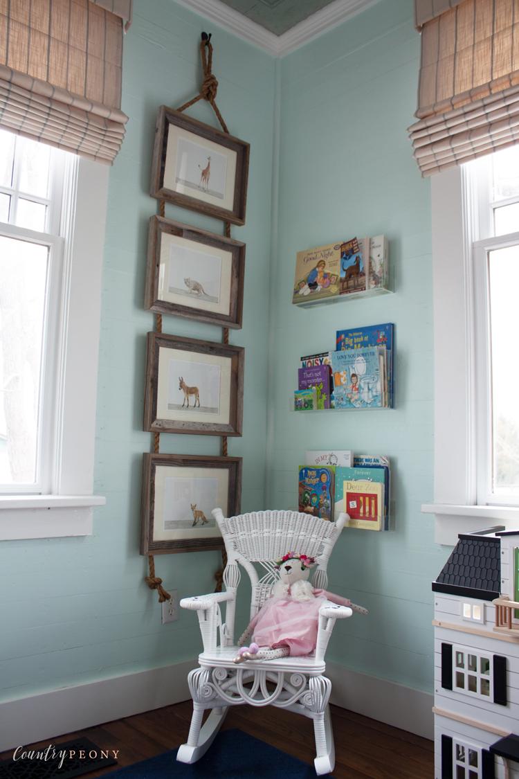 Animal Prints Display for a Nursery