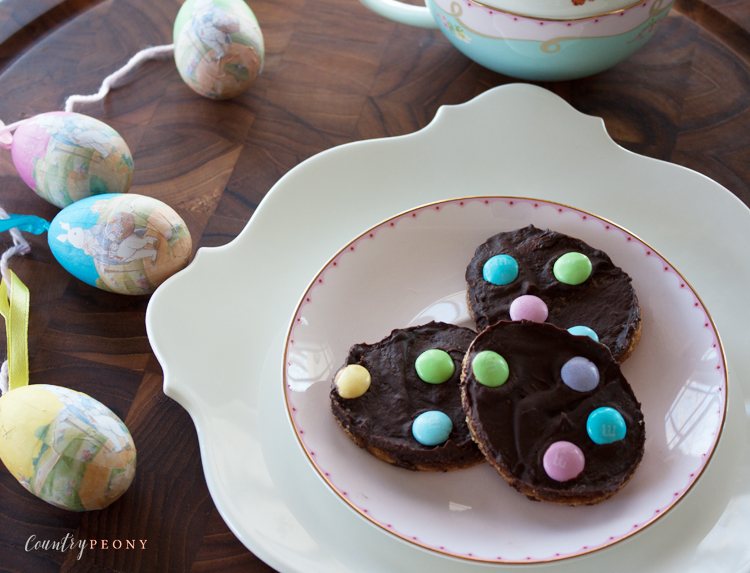Homemade Chocolate & Toffee Graham Cracker Easter Eggs