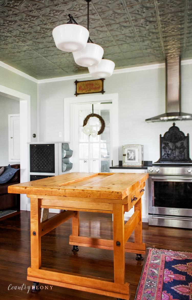 Country Farmhouse Kitchen Details