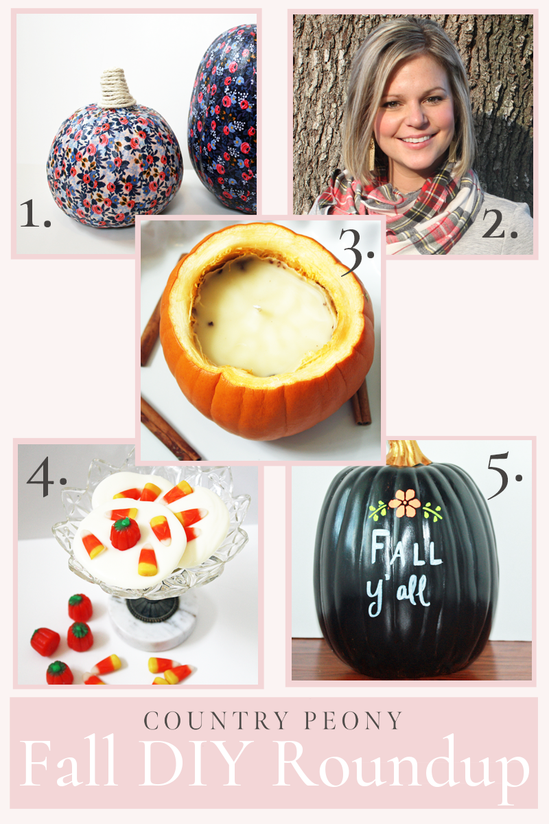 Fall Project DIY Roundup - Country Peony Blog