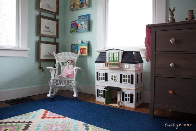 Kid's Shared Whimsical, Animal Inspired Bedroom Reveal