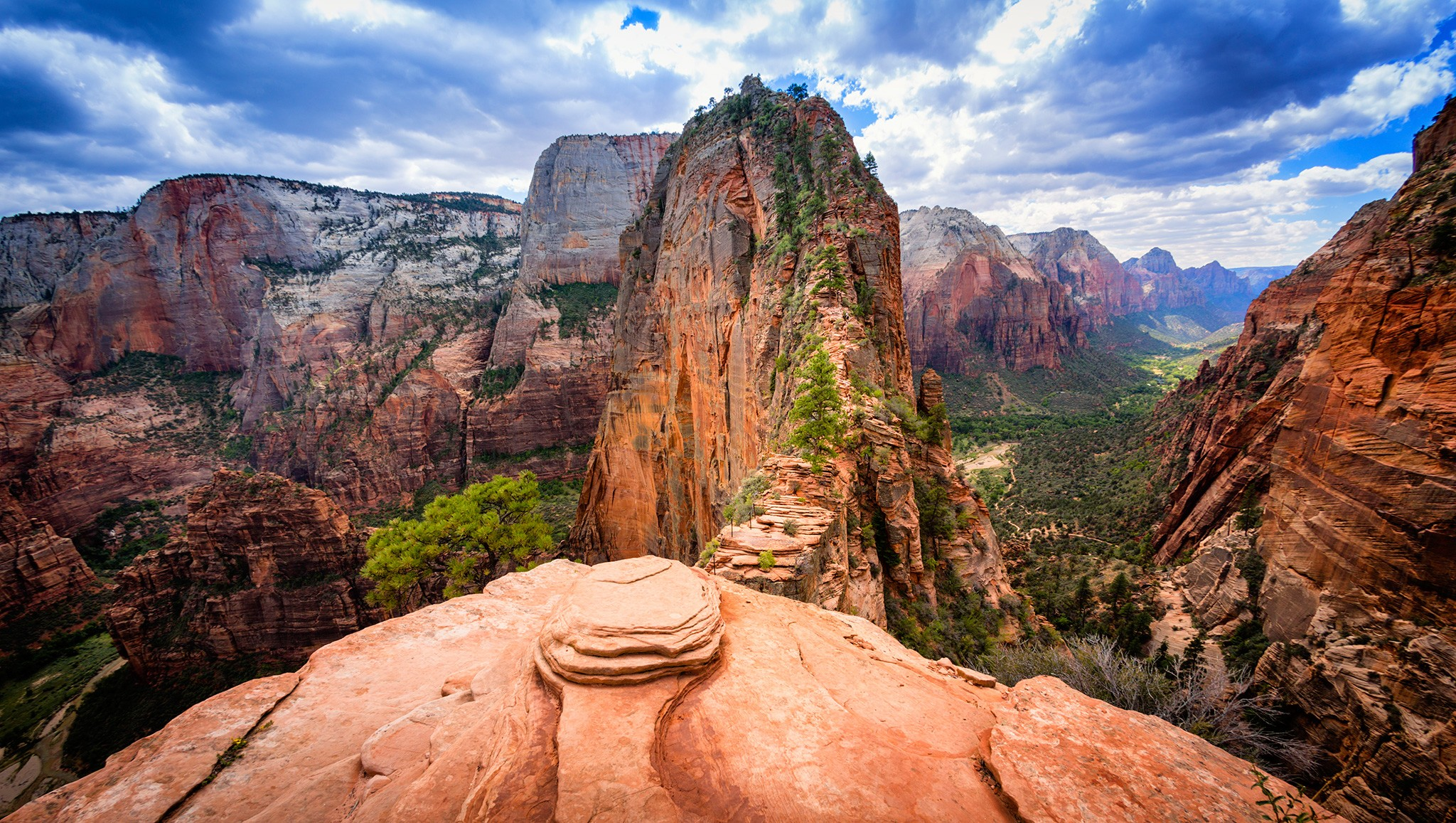 angels landing zion national park southern utah