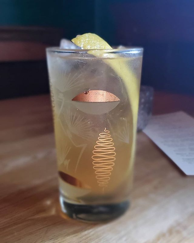 An ice cold cocktail helps beat the heat. Here's El Cordonazo, a refreshing blend of Cazadores Blanco tequila, Marrow Vermouth, 49th Parallel Cascara Tea, lemon and spruce tip.