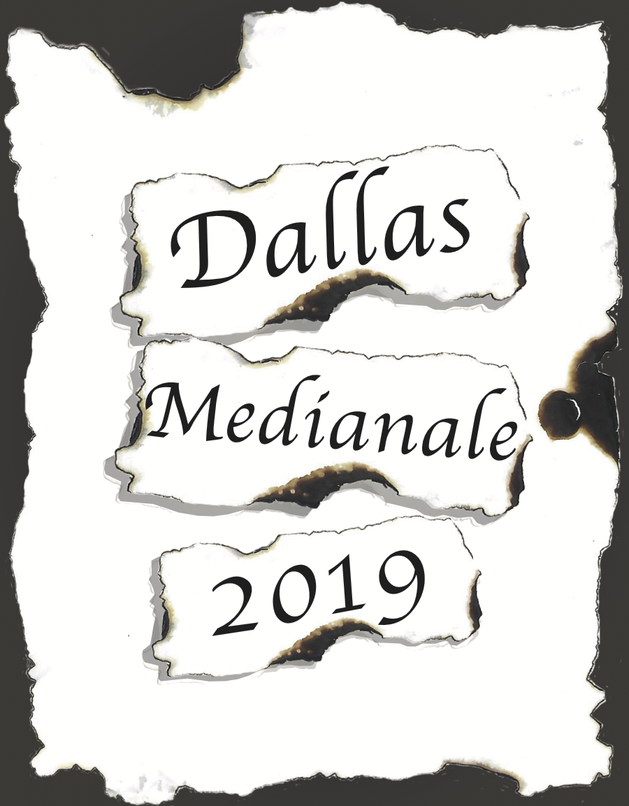 Dallas Medianale 2019 Cover designed by Samantha Hartman