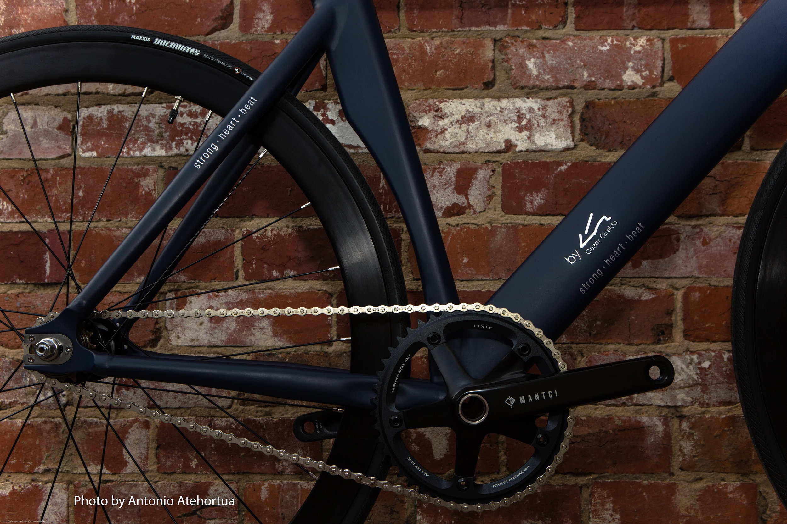 MANTCI - In 2016, along with other leading architects, designers and taste makers, I was asked to add creativity and style to a Schwinn bicycle which benefited the Los Angeles Ronald McDonald House. I was honored to participate in a great cause that helped the LARMH's mission of providing comfort, care and support to caregivers of seriously ill children.