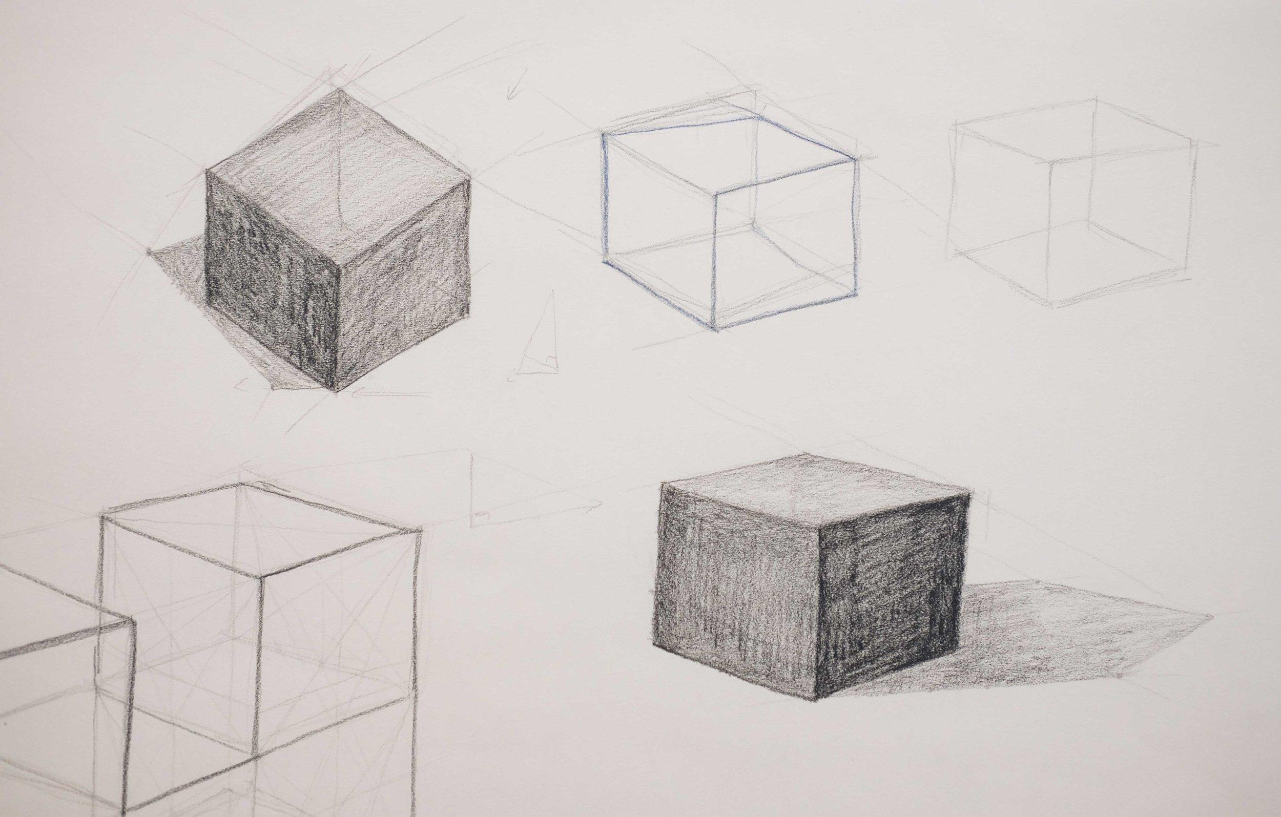 cube shadows