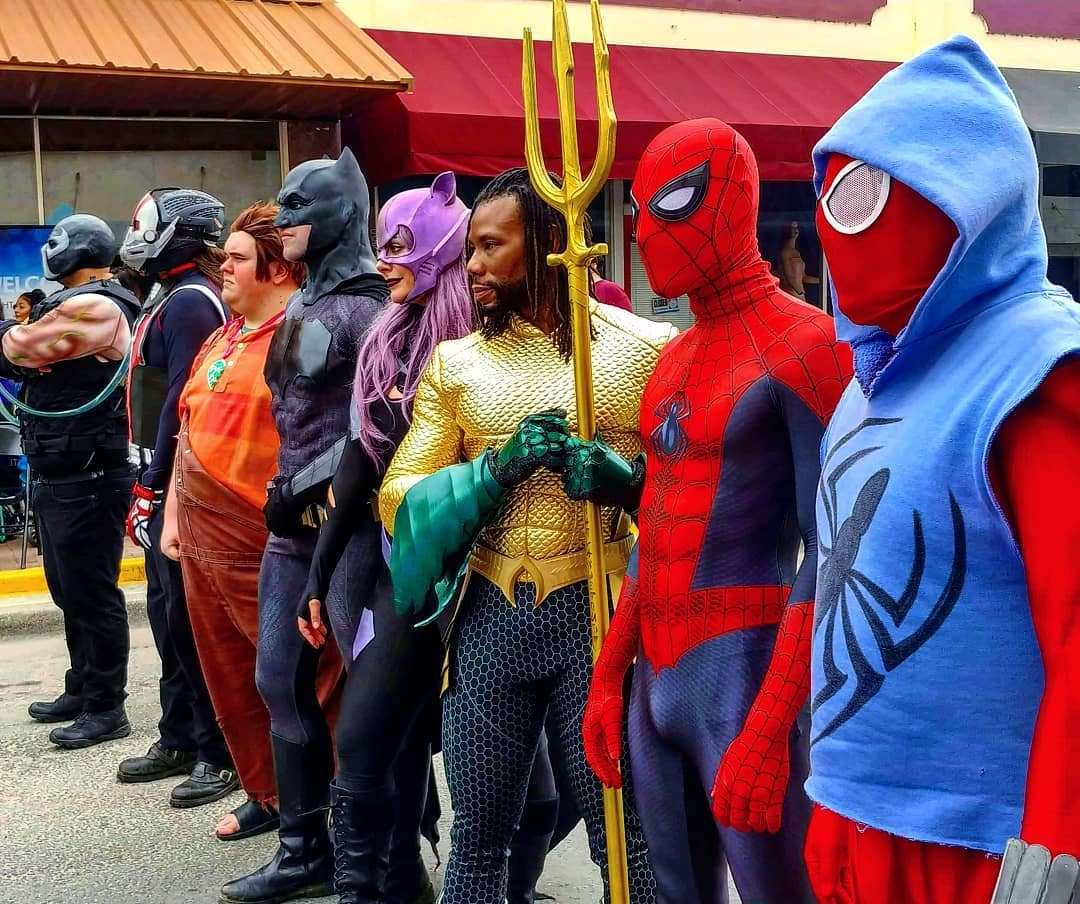 Cosplayers -
