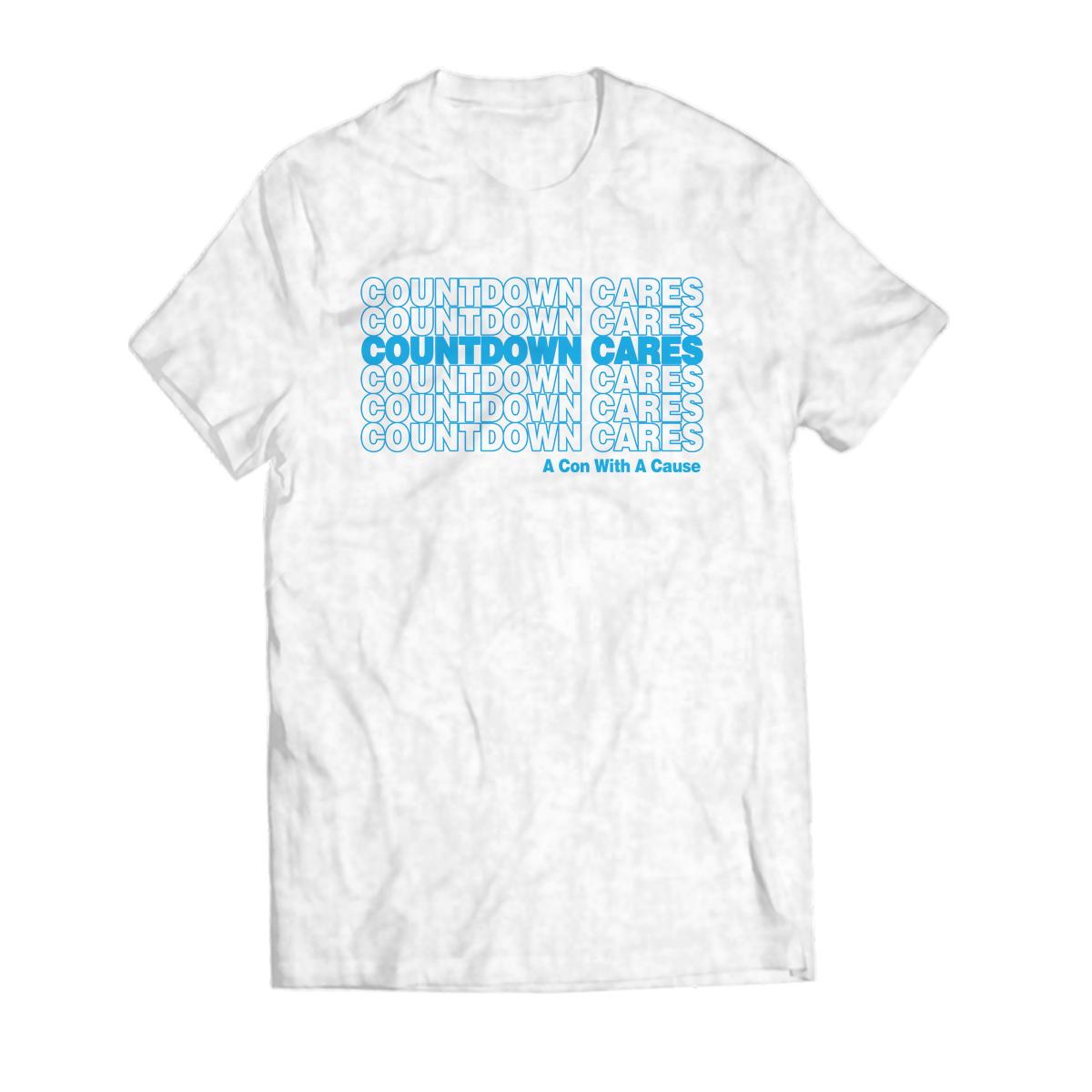 T-Shirt - Countdown Cares - Ash Grey.png