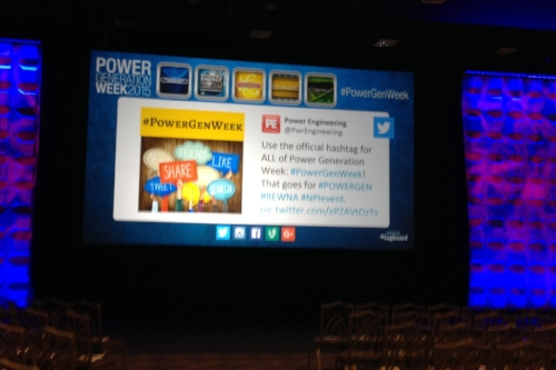 ^^^ We utilize TAGBOARD to stream social posts live during the keynote and at key locations around the conference.