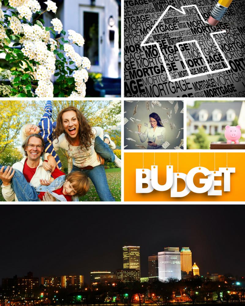 Cityscape Home Mortgage Mood Board